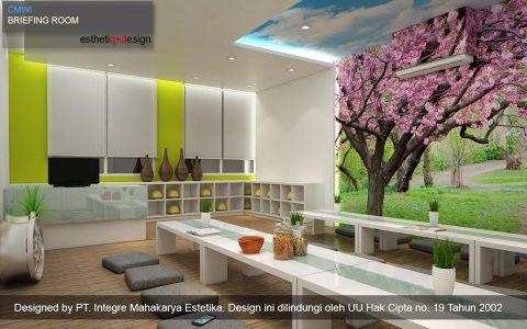 Interior Design PT. Central Motor Wheel Indonesia (CMWI)