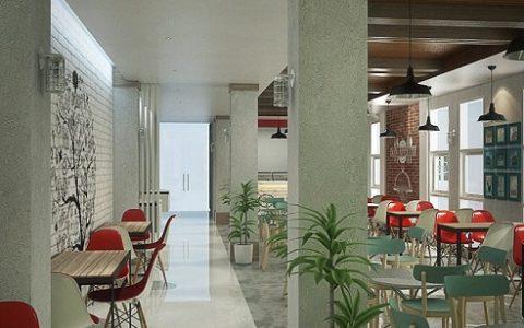 Interior Design Kantin Sariwangi
